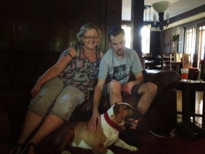 Bull Terrier Gunnar Adopted!